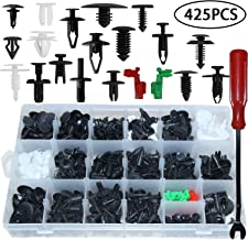 Auto Clips Car Body Retainer Assortment Clips Set Tailgate Handle Rod Clip Retainer Auto Push Rivets Plastic 19 MOST Popular Sizes Car Clips 425 PCS With 1 Fasteners Removal Tool For GM Ford Chevy