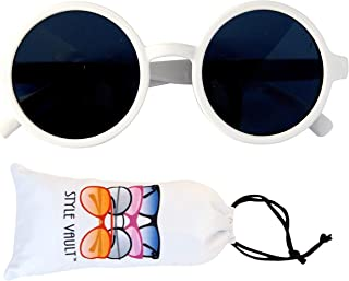 Kd3008 Baby Infant Toddlers Age 0~36 Months Round Retro Sunglasses