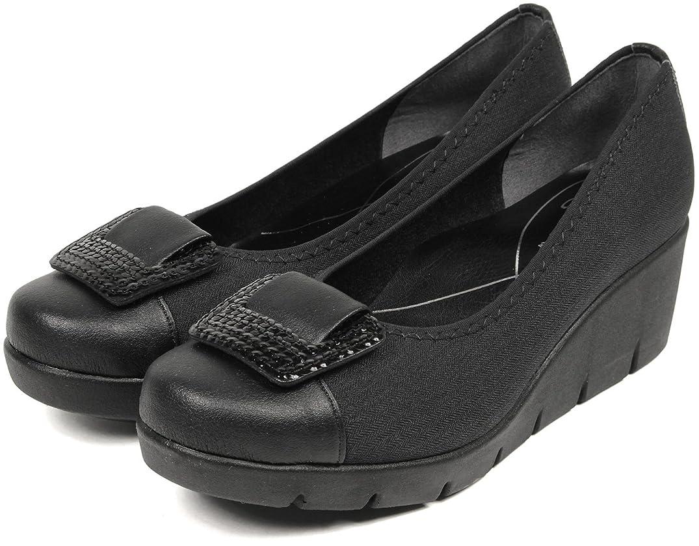 立場予知国旗[セレブル] ファーストコンタクト FIRST CONTACT 日本製 ウェッジソール パンプス レディース 歩きやすい 靴 カジュアル