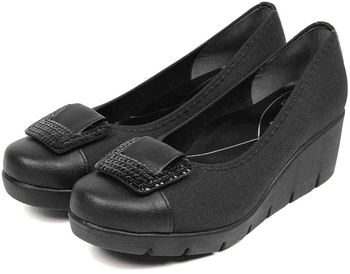 平日債務エロチック[セレブル] ファーストコンタクト FIRST CONTACT 日本製 ウェッジソール パンプス レディース 歩きやすい 靴 カジュアル