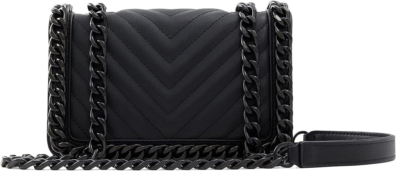 ALDO Women's Minigreenwald Crossbody Bag, Black/Black
