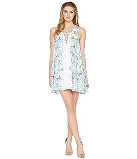 Daryn Lace-Up Dress