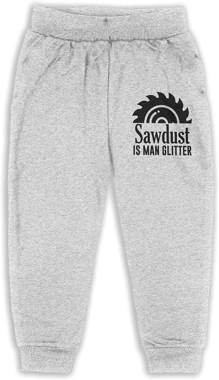 Thtfhe Unisex Kids Sawdust is Man Athletic Pants Cotton Training Pants Leisure Pants for Girls