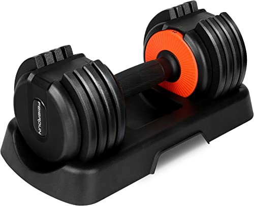 new arrival Adjustable Dumbbell Weights Dumbbell, Women and Men 22 Pound Weight Exercise and Fitness lowest online Dumbbells for Home Gym and Workout (Single) online