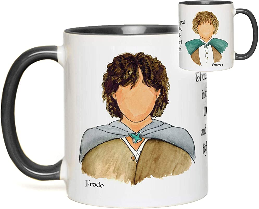 Lord Of The Rings Mug Frodo Baggins Sam Gamgee Hobbit Quote Fan Gift