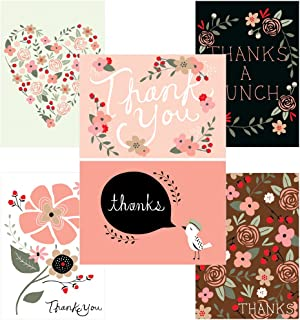 60 Postcards - Thank You Potpourri - 6 Different Images