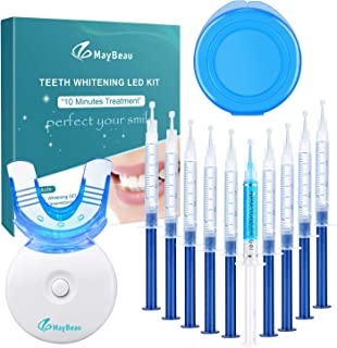 MayBeau Teeth Whitening Kit, Professional 10 Teeth Whitening