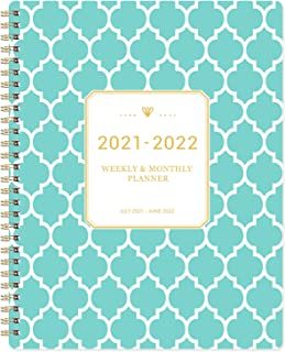 """2020-2021 Planner - Academic Weekly & Monthly Planner with to-Do List, 8"""" x 9.8"""", July 2020 - June 2021, Twin-Wire Bindin..."""