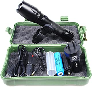 OZSTOCK® CREE XP-E T6 USB LED Zoomable 5000Lm 18650 Rechargeable Battery Flashlight Torch SAA Approved