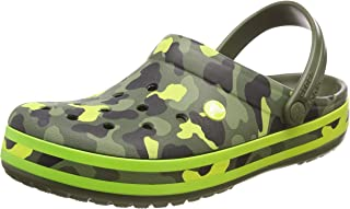 Crocs Unisex Adults Crocband Seasonal Graphic Clog