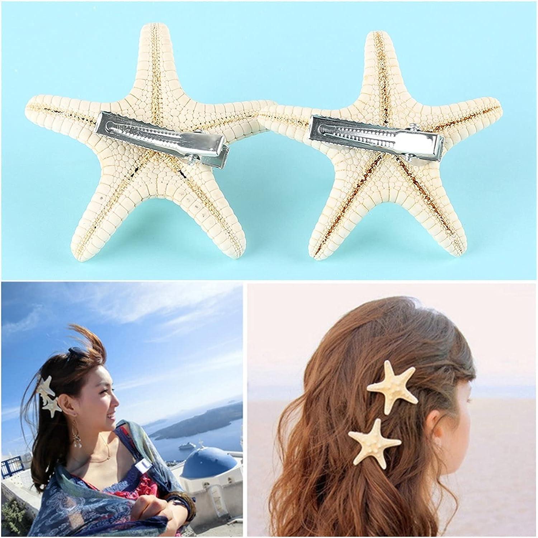 MINGQIMY Hairpin Ultra-Cheap Deals New Starfish Hair Clip Starfis Girls Cute Super Special SALE held Women