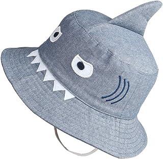 jerague Kids Toddler Baby Summer Bucket Sun Hat Breathable Adjustable Fisherman Hats