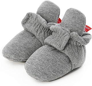 Stivali Invernali per Neonato Unisex Fondo Morbido Antiscivolo Stivali da Neve Bambino Cotone Piatto Pelliccia Calzino Boo...