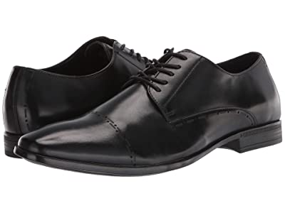 Kenneth Cole Reaction Eddy BRG Lace-Up CT (Black) Men