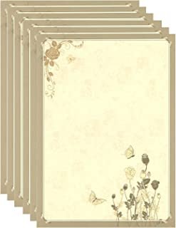 IMagicoo 48 Vintage Retro Writing Stationery Paper Pad Letter Set (Style-2)