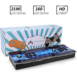 Spmywin 3D Pandora's Key 7 Arcade Video Game Console 1080P Game System Support Expand 2D 3D Games Function Advanced CPU Mini Arcade Come with a 32G U Drive