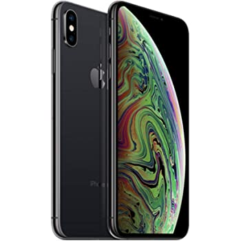 Apple iPhone XS, 256GB , Space Gray - Fully Unlocked (Renewed)
