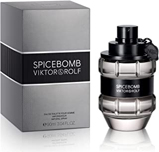 Viktor & Rolf Spicebomb Eau De Toilette Spray for Men, 3.04 Ounce