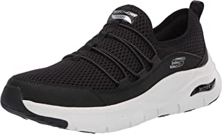 SKECHERS ARCH FIT Fashion Shoes-Women, Black White