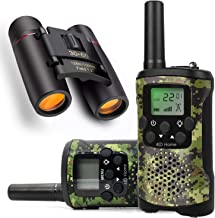 Ideahome Kids walkie talkies Binoculars Toys - Kids' Binocular 2 Way radios walkie Talkie 3 Miles Long Range walky Talky Children Outdoor Toys Best Gifts for Boys and Girls (camo)