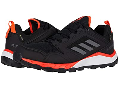 adidas Outdoor Terrex Agravic TR GTX (Black/Grey Four/Solar Red) Men