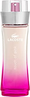 Lacoste Perfume  - Lacoste Touch of Pink - perfumes for women 90 ml - EDT Spray