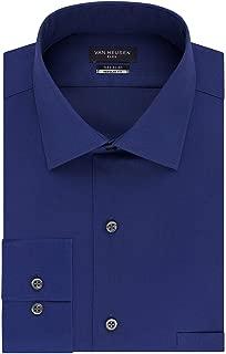 Van Heusen Solid Midnight Mens Dress Flex Shirt