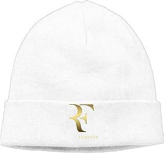 Unisex Roger Federer Logo Winter Beanie Hats Cool Beanie