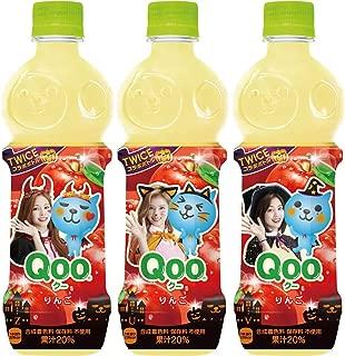 コカ・コーラ ミニッツメイド Qoo わくわくアップル 470ml PET×3本