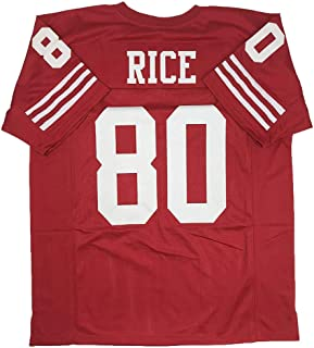 Nacenly Men's/Women's/Youth Jerry_Rice_#80 Jersey for American Football Jerseys Birthdays Gift