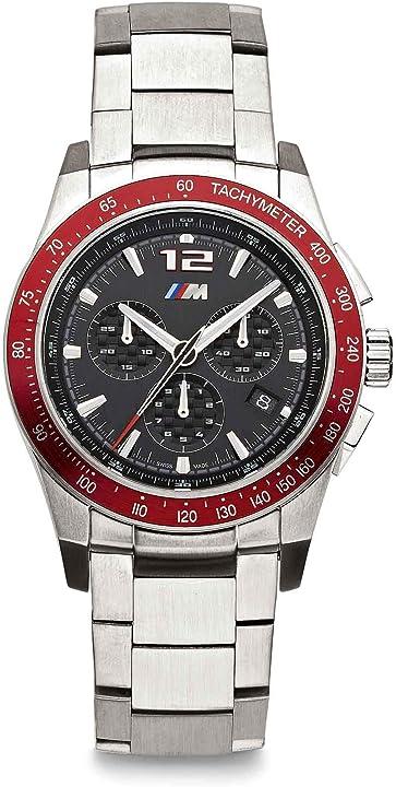 Orologio bmw  m 80262463268 - orologio da polso con cronografo in metallo 5040D