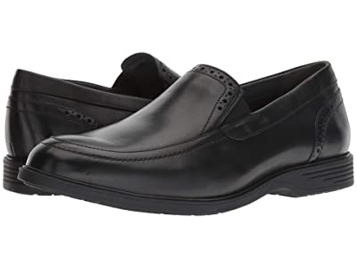 Hush Puppies Shepsky Slip-On (Black Leather) Men