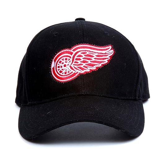 info for c30e3 e4693 NHL Detroit Red Wings LED Light-Up Logo Adjustable Hat