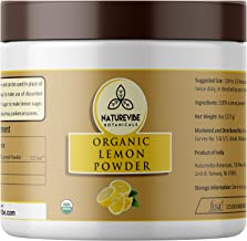 Naturevibe Botanicals Lemon Juice Powder (8oz), Non-GMO & Gluten Free | 100% Natural Lemon Juice