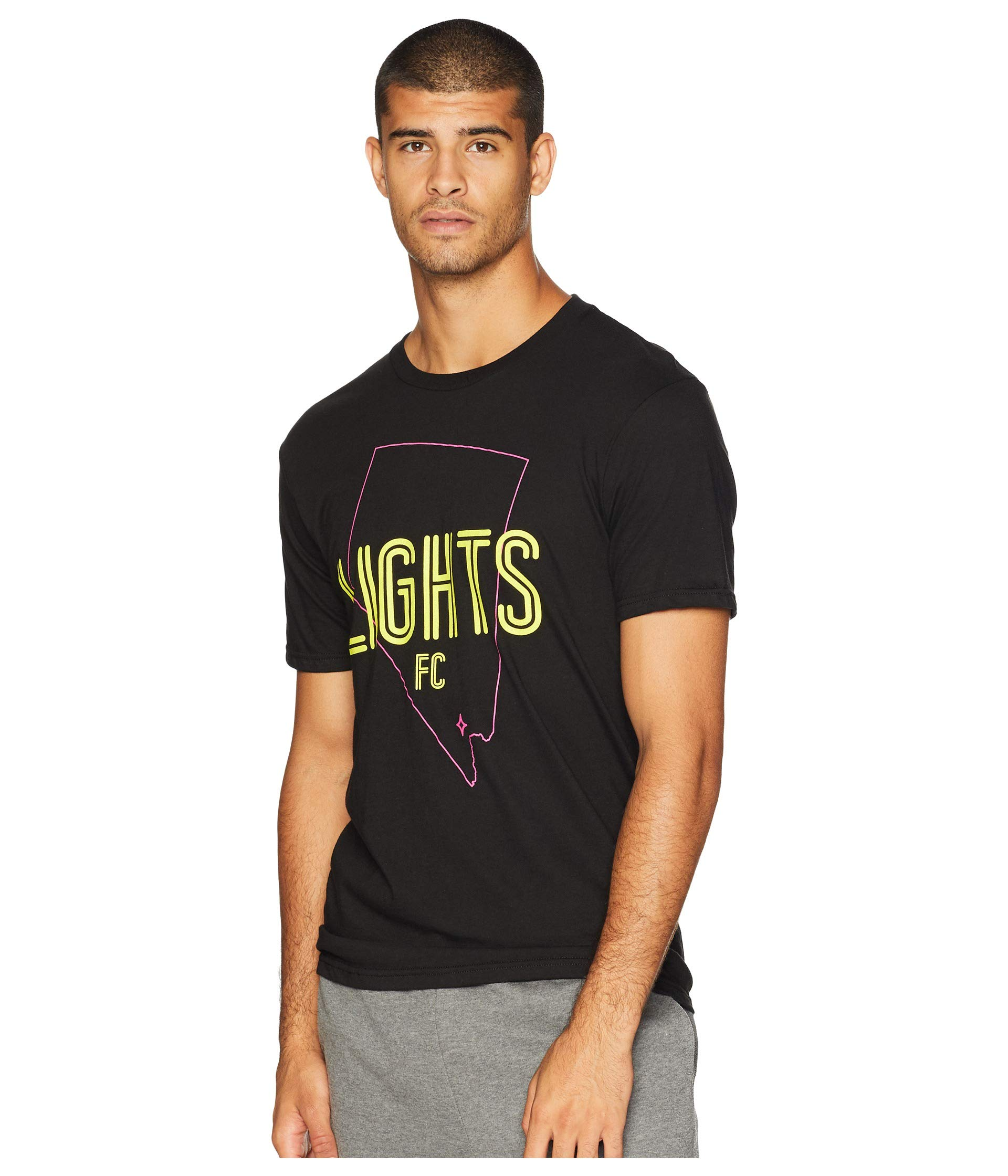 Vegas Fc Tee Lights c F Black State Las ap8xq7dx