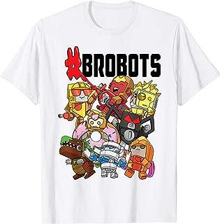 Transformers BotBots #Brobots Group Shot T- Shirts