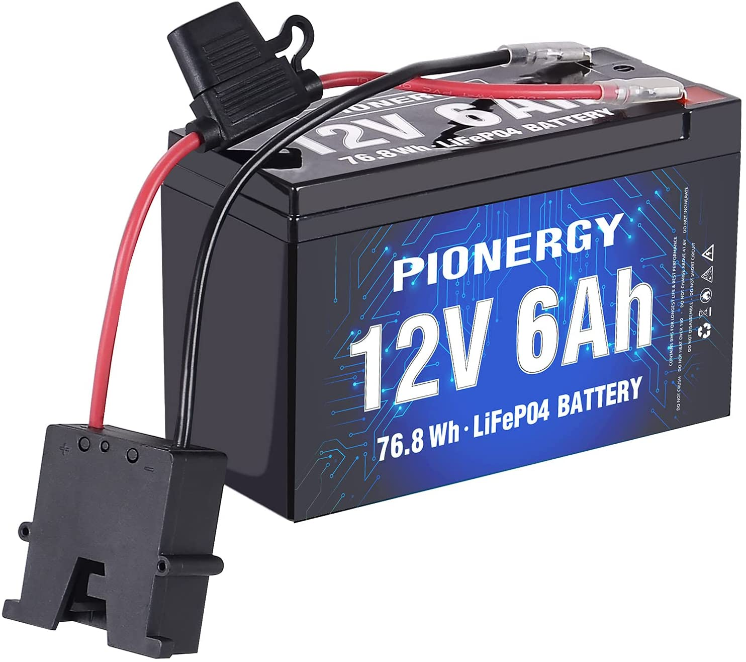 Battery Max 72% OFF for Fisher Price Power Wheels Cycles Max 74% OFF 12V L 2000 LiFePO4