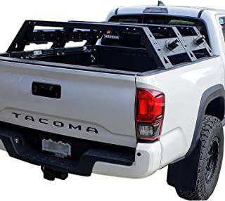 Hooke Road Upgrade Cargo Carrier Truck High Bed Rack for Toyota 2 Gen 3 Gen Tacoma 2005-2019
