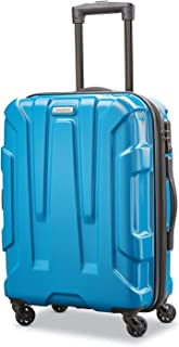 Samsonite Centric Hardside Expandable Luggage with Spinner Wheels, Caribbean Blue, Carry-On 20-Inch