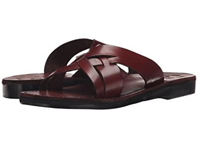 Jerusalem Sandals Jesse Mens (Brown) Men