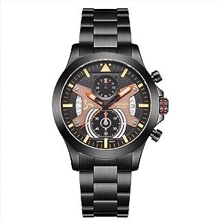 TORNADO Men's Chronograph Multi Color Dial Watch - T20101-BBBB