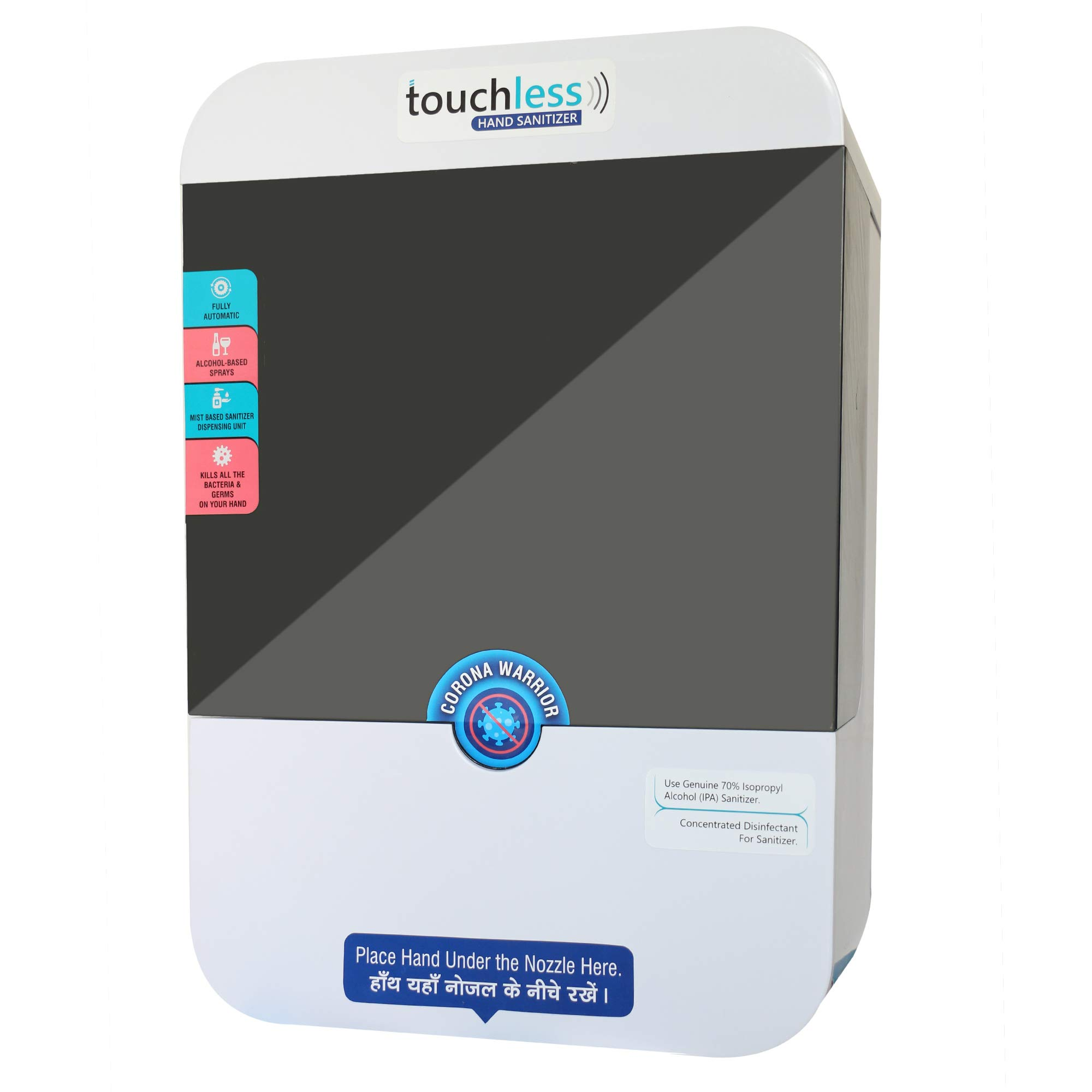 touchless sanitizer Dispenser/sanitizer Dispenser Automatic for Home/Office/Corporate/Industrial/Government Use, Touch Free sanitizer Dispenser Automatic