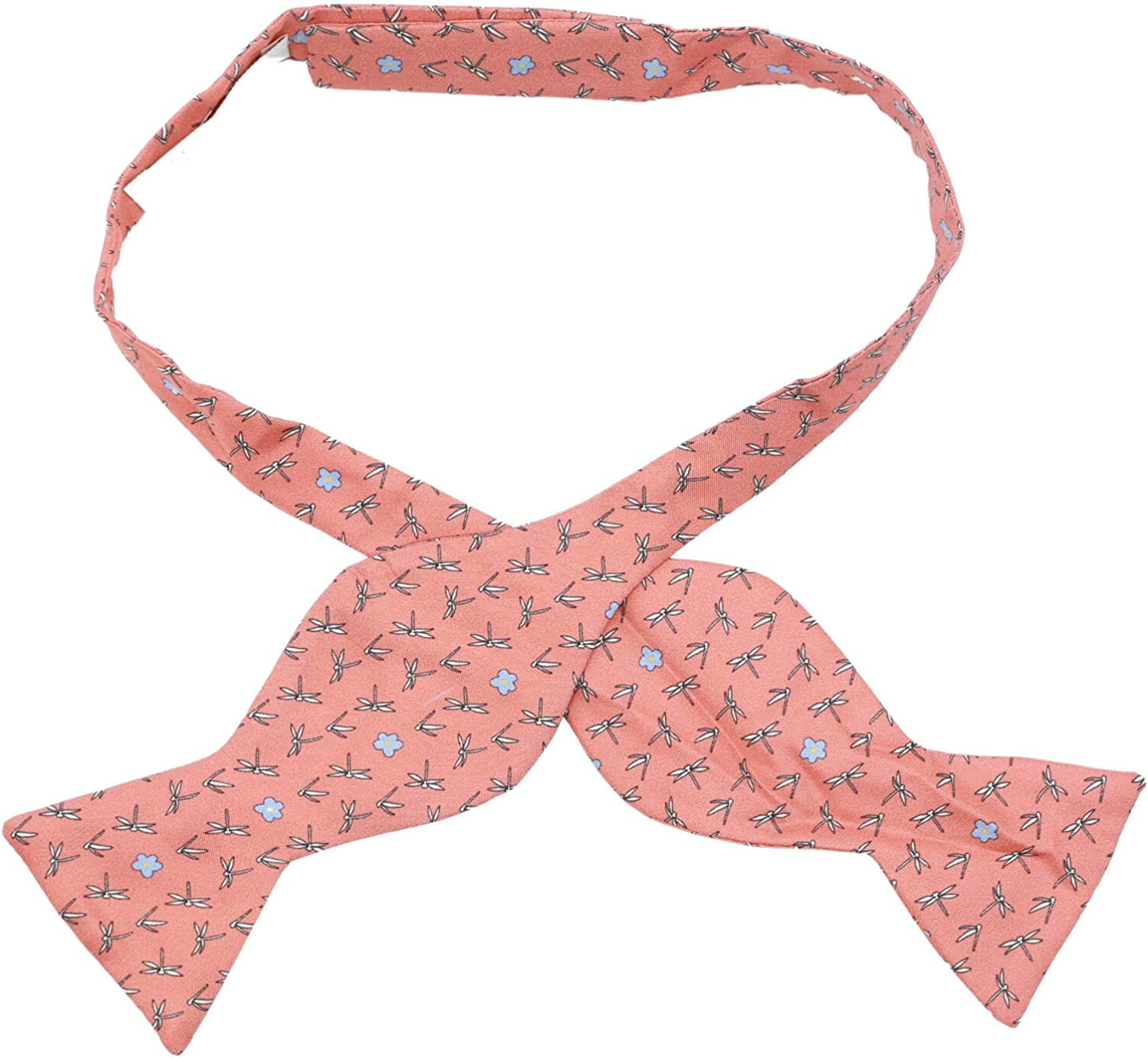 Carrot and Gibbs Men's Dragonfly Floral Bow Tie