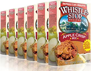 Original WhistleStop Cafe Recipes | Apple Crisp Batter Mix | 9-oz | Case of 6