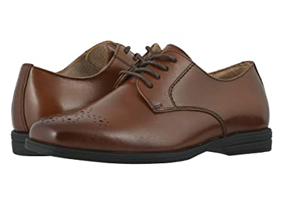 Florsheim Kids Reveal Perf Toe, Jr. (Toddler/Little Kid/Big Kid) (Cognac) Boy