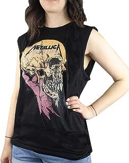 Amplified Metallica Sad But True Women's Sleeveless T-Shirt
