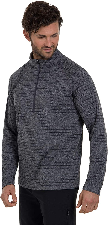 Berghaus Mens Thermal Tech Tee Half Zip Long Sleeve T-Shirt