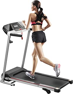 Rhomtree Folding Electric Treadmill Incline Motorized Running Walking Machine Fitness Exercise Lose Weight Training Equipment Home Gym Exercise Space Saving