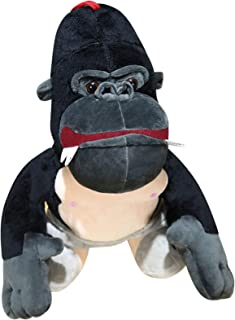 TT&Louis 2021 3D Cute Chimpanzee Soft Plush Toy Great Easter Birthday Gift for Kids 25CM, Stuffed Animal Toy Ornaments, Pi...