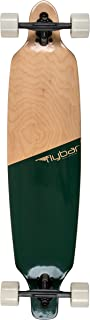 Flybar Skate Drop Through Longboard Skateboards 39 x 9 Lightweight 7 Ply Canadian Maple Skate Board - 70mm 78 PU Wheels with High Speed ABEC 9 Bearings